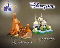 Make A Mini Disneyland With These LEGO Microscale Sets