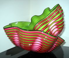 Dale Chihuly. OMG, my favorite colors! now it needs some purple...