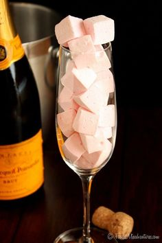 Champagne Marshmallows | The Marvelous Misadventures of a Foodie