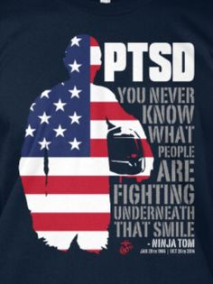 I have read 22 veterans commit suicide each day due to PTSD. If this is true, it is a national disgrace. Illegal immigrants get free medical care and veterans have to wait and wait to get care. Military Quotes, Military Life, Ptsd Military, Military Terms, Military Box, Army Quotes, Navy Military, Ptsd Quotes, Life Quotes