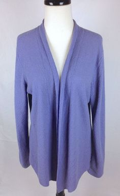 Pringle Sweater Cashmere Blue Cardigan Long Sleeve Vintage Womens ...