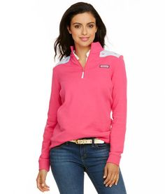 Whale Embroidered Shep Shirt Price: $125 Color: Lipstick Size: M