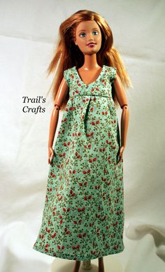 Handmade Doll Clothes For Pregnant Midge Barbie by TrailsCrafts, $6.50