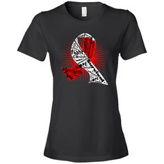 Sport your awareness ribbon with Squamous Cell Carcinoma Powerful Ribbon Slogans  Fashion T-Shirts featuring inspiring cancer sayings for the fighter, survivor and advocate with the designated awareness ribbon color #SquamousCellCarcinoma #SquamousCellCarcinomaAwareness #SquamousCellCarcinomaShirts