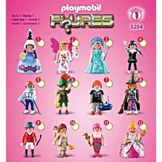 Playmobil Figures Series 1