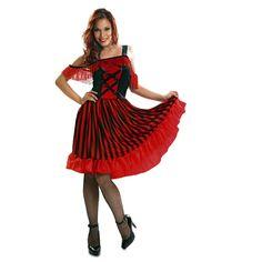 Disfraz de Chica Can Can #disfraces #carnaval