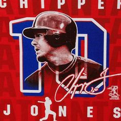 Chipper Jones Atlanta Braves #10