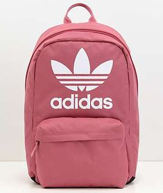 Zumiez adidas Originals Big Logo Dark Pink Backpack Found on my new favorite app Dote Shopping Cute Backpacks For School, Cute School Bags, Cute Mini Backpacks, Trendy Backpacks, Green Backpacks, Girl Backpacks, Addidas Backpack, Backpack Purse, Diaper Backpack