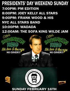w/ Frank Wood's NYC All Stars @ Otto's