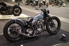 Harley-Davidson FL Shovelhead rigid | Springer style front end | Japan | via Daikoube.blogspot.com #harleydavidsonbreakout
