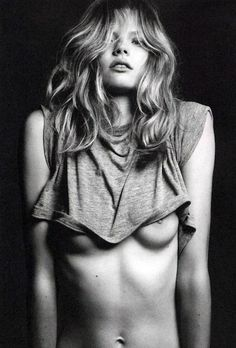 Magdalena Frackowiak by Hedi Slimane — The Quiet Front