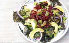 Foreverfit.tv - Roasted Chard And Avocado Salad-2