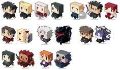 Fate/Zero Box Icons