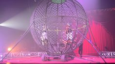 Circus Vargas Globe of Death Circus Acts, Persephone, Ash, Globe, Places To Visit, Characters, Ceiling Lights, Stars, Death