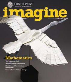 IMAGINE MAGAZINE. Explores career paths. Advice for college planning.