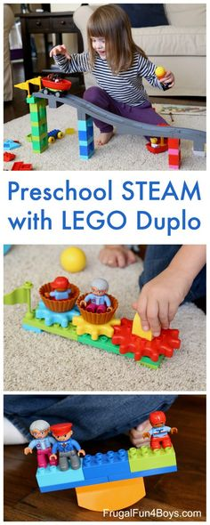 STEAM Projects for Preschoolers with LEGO Duplo – Frugal Fun For Boys and Girls