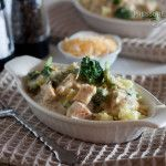 Ultimate in pressure cooking recipes with complete directions on how to make the complete meal in steps! Creamy Chicken and Broccoli over Rice Recipe from Pressure Cooking Today