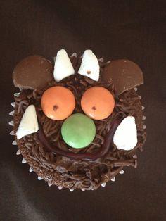 Gruffalo cupcakes Leo Birthday, Baby Boy Birthday, Baking With Toddlers, Gruffalo Party, Yummy Treats, Sweet Treats, School Cupcakes, Gateau Cake, Animal Cakes