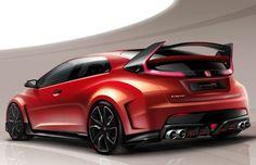 Honda revelará Civic Type R no Salão de Genebra