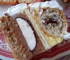 Torta sa kroasanima i mančmelouom