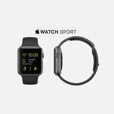 38mm 7000 Series Space Gray Aluminum Ion-X Glass Retina Display Composite Back Sport Band Black Fluoroelastomer Space Gray Stainless Steel Pin