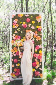 カラフルなお花が可愛い♡ロマンティックなgarden wedding♡にて紹介している画像