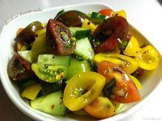 Heirloom Tomato Salsa  @Healthilinguist