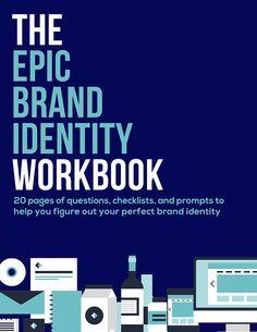 Brand Identity Workbook: Plan Your Creative Business by byRegina