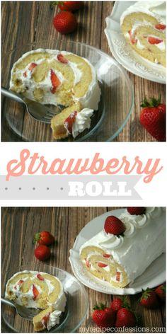 Strawberry Roll recipe.