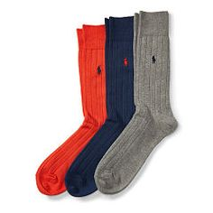 105244086 - Ribbed Crew Sock 3-Pack