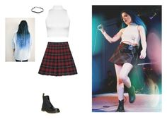 """""""Halsey Inspired"""" by hanakdudley ❤ liked on Polyvore featuring WearAll, Dr. Martens and Prada"""