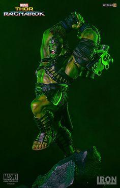 憤怒的狂暴之火!!Iron Studios Battle Diorama 系列 雷神索爾3:諸神黃昏【浩克】Thor Ragnarok Hulk 1/10 比例決鬥場景作品 | 玩具人Toy People News