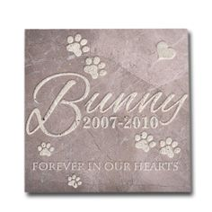 Personalized Memorial Pet Headstone Customized - Forever In Our Hearts - 12 x 12 Silverado Gray Filled * You can get additional details at the image link. Pet Headstones, Dog Itching, Dog Training Pads, Dog Dental Care, Dog Food Storage, Dog Shower, Dog Shedding, Dog Diapers, Cat Memorial