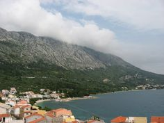 A view of the coastline of Igrane, Croatia which is a popular seaside destination for many.