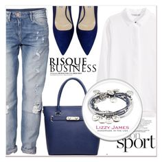 """""""# I/19 Lizzy James"""" by lucky-1990 ❤ liked on Polyvore featuring H&M, Prada, Lizzy James and lizzyjames"""