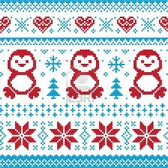 Christmas And Winter Knitted Pattern, Card - Scandynavian Sweater.. Royalty Free Cliparts, Vectors, And Stock Illustration. Image 16214685.