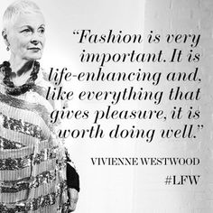 Stalwart of British fashion, Dame #viviennewestwood presents her Red Label collection later today. #LFW