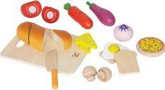 Hape Chef's Choice Wooden Play Food Basics Set