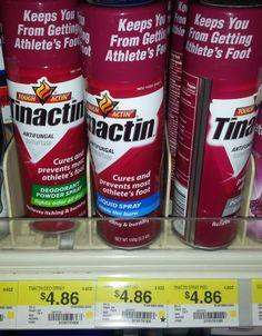 Tinactin Spray Just $2.86 at Walmart!