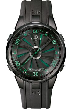 #Perrelet Turbine XL - St. Patrick's Day #green #watch #watches