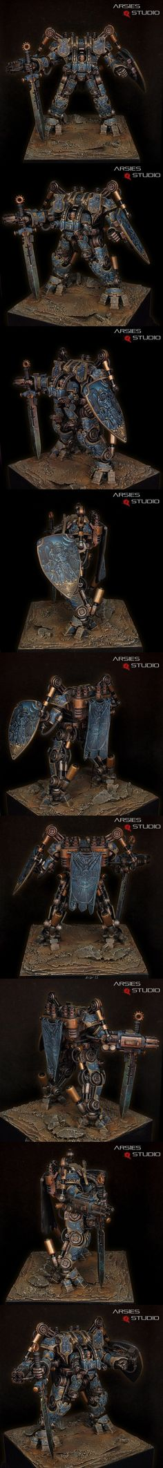 Nemesis Dreadknight, Tribute to Franciuus