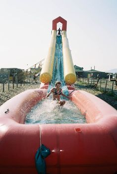 The ultimate slippin' slide