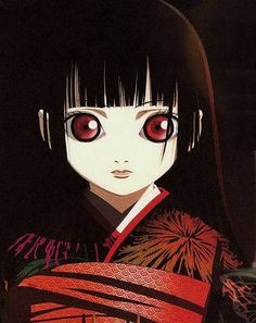 """""""Hell Girl"""" anime series created by Aniplex and Studio Dean, directed by Takahiro Ōmori, written by Hiroshi Watanabe."""