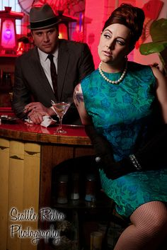 Couples look great at SeattleRetroPhotography.com by OldSchoolPinUps & SeattleRetroPhotographyStudio, via Flickr