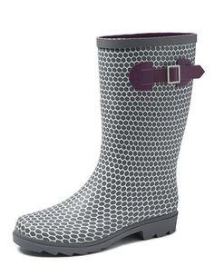 59 Best Rain Boots images   Rain boots, Rubber work boots, Heels 32f89f4b0b01