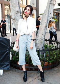 The Standout Looks From Street Style Cinema: Dirty Dancing Edition Look Fashion, Daily Fashion, Girl Fashion, Fashion Outfits, Fashion Trends, Fashion Tips, Cool Outfits, Summer Outfits, Casual Outfits