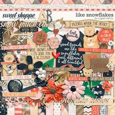 Like Snowflakes Kit by Sugary fancy