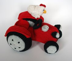 Buy Farmer and tractor amigurumi pattern - AmigurumiPatterns.
