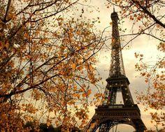 Paris in autumn colours