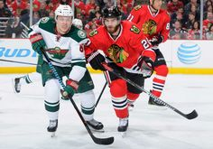Blackhawks beat the Minnesota Wild 3-5 12/16/14, now 22-9-1